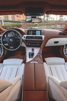 BMW F13 650i interior