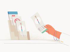 PrescribeWellness - Handouts by The Furrow #Design Popular #Dribbble #shots
