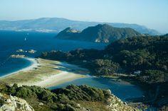 Praia de Rodas, Illas Cíes, Galicia