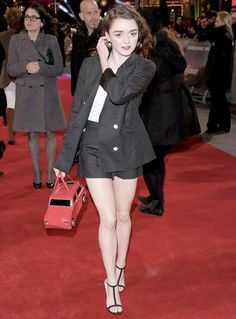 """ Maisie Williams – 'The Revenant' Premiere in London """