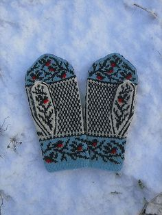 Ravelry: Winterbirds pattern by Natalia Moreva