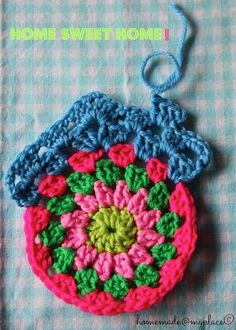 "homemade@myplace: Make it! Granny circle ""home sweet home"" !!!"