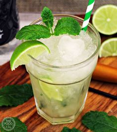 Non Alcoholic Mojito is the perfect mocktail to celebrate Valentine's Day. Impress you loved one with your cocktail skills and enjoy this delicious drink!