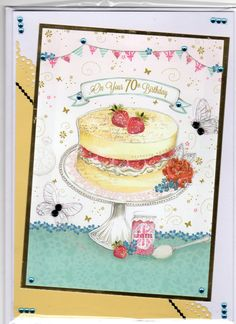Hunkydory little books 70th Birthday