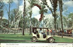 The Double Loop, Geauga Lake This was my favorite roller coaster! When Geauga Lake was an amusement park! Geauga Lake Amusement Park, Ohio Amusement Parks, Cleveland Heights, Cuyahoga Falls, Cedar Point, Local Attractions, Need A Vacation, Sea World, Back In The Day