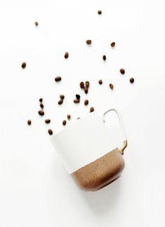 DIY Speckled Dip Mug @themerrythought