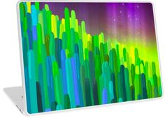 'Hue-Cactus' Laptop Skin by HeartActivation Laptop Skin, Creative Design, Hue, Classic T Shirts, Cactus, Healing, Phone Cases, Stickers, Art Prints
