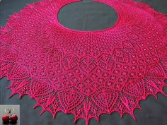 Ravelry: Project Gallery for Shawl Eden pattern by Olga Bochkareva