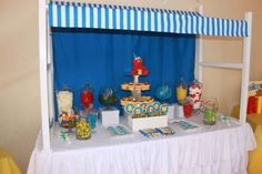 Sesame Street Birthday Party Ideas | Photo 1 of 19