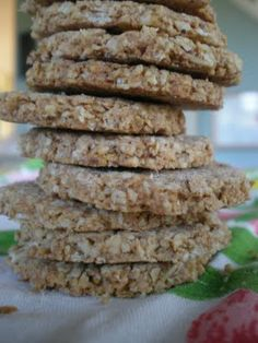 Home made oat cakes