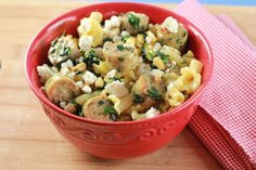 TARGET MEAL - market pantry sausage pasta with goat cheese Healthy Cooking, Healthy Eating, Chicken Sausage Pasta, Goat Cheese Pasta, Pasta Dishes, Pantry, Target, Yummy Food, Meals