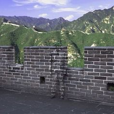 """Where's Liu Bolin? In nearly all of his art, Liu Bolin goes completely unseen - but he is typically front and center. Liu Bolin is """"The Invisible Man"""". Liu Bolin, Camouflage, Skin Wars, Master Of Fine Arts, Invisible Man, Great Wall Of China, Art Plastique, Optical Illusions, Street Art"""