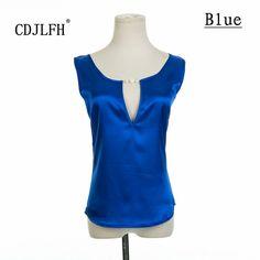 Cdjlfh 브랜드 여성 blusas 고체 민소매 블라우스 feminino 여성 블라우스 여자 패션 clothin 무료 배송