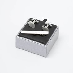 This Stylish Offset Box Set is made to the highest standard and presented in a beautiful gift box. Designer Cufflinks, Cufflink Set, Tie Pin, Beautiful Gift Boxes, Satin, Bar, Ministry, Gifts, Gift Ideas
