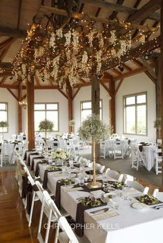 Love the ceiling and table layout