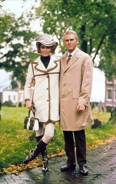 L'Affaire Thomas Crown - Faye Dunaway - Steve McQueen