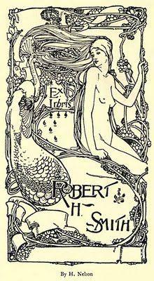 Art Nouveau Book Plates