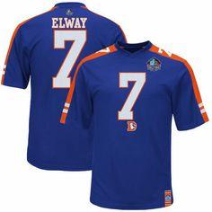 John Elway Denver Broncos Majestic Big   Tall Hall of Fame Hashmark II T- Shirt - Navy. My Info 097766932