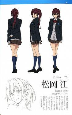 Gou Matsuoka do Anime Free! Character Design Animation, Female Character Design, Character Design References, Character Design Inspiration, Character Model Sheet, Character Modeling, Character Concept, Moe Manga, Manga Anime