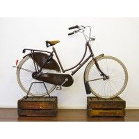 gazelle Bike, brown