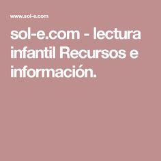 sol-e.com-lectura infantil Recursos e información.