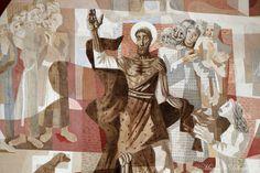 """#Detalhe - Igreja de São Francisco de Assis - """"Altar Principal na Igreja da Pampulha, Pintura de Portinari"""" by Caravaggio_Designer, via Flickr"""