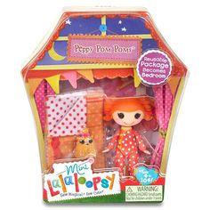 """Mini Lalaloopsy Sew Sleepy Doll - Peppy Pom Poms - MGA Entertainment - Toys """"R"""" Us"""
