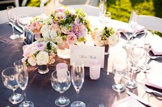 Pink + grey wedding ideas | Photography: Michael Norwood