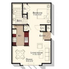 650 sq ft floor plans - Google Search