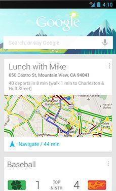 Google Now espera aprobación de Apple para incluirse en el iOS