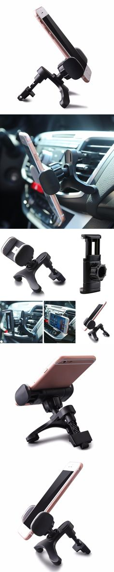 New Arrival 360 Degree  Universal Adjustable Car Air Vent Mount Holder Stand For Mobile Phone GPS Oct16