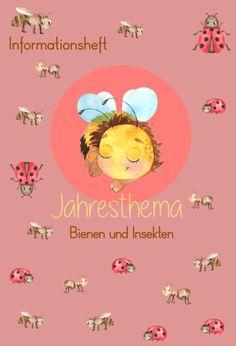Montessori, Bee, Teaching, Activities, Kids, Poster, Journal, Ladybug Nursery, Beetle Insect