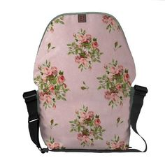 Purchase your next Pink messenger bag from Zazzle. Choose one of our great designs and order your messenger bag today! Pink Laptop, Laptop Messenger Bags, Pretty Roses, Baggage, Purses And Bags, Backpacks, Sewing, Floral, Clothes