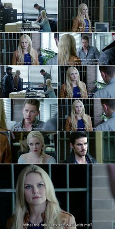 """""""What the hell does she want with me?"""" Emma, David, Elsa and Hook - 4 * 4 """"The Apprentice"""""""