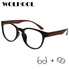 7132c7d91b1 Retro Black Frames Prescription Glasses Men Fashion TR90 Spectacles Clear  Lens Vintage Myopia Optical Glasses Women