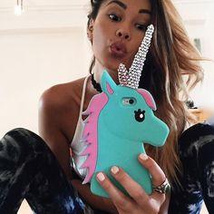 "Dolls Kill on Instagram: ""@anatanaka blinged out her #UnicornCase NEED it more now: DollsKill.con/UniCase"""