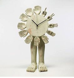 Table Clock by Pedro Friedeberg 1974