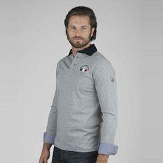 www.marinamilitare-sportswear.com #marinamilitaresportswear #FW2014 #menfashion #polo #grey #winter #casual #style #fashionblogger #love #photooftheday #sportswear #golook #repin