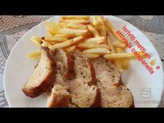 (7989) #Polpettone Bon Roll e patatine friggitrice ad aria - YouTube Actifry, Carne, French Toast, Rolls, Breakfast, Youtube, Food, Bonito, Morning Coffee