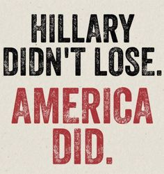 As the Endless Scandals and Non Stop Lying drips out of the White House daily and we see his Circus Cabinet Embroiled in Illegal Activity, it sinks in deeper and deeper....America Lost. America Lost Big Time.
