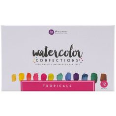 Free Shipping on orders over $35. Buy Prima Marketing Watercolor Confections Watercolor Pans, 12pk, Tropicals at Walmart.com