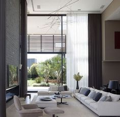 As an interior designer, you can discover modern luxury living room design ideas combining luxurious materials with a light gold Cozy Living Rooms, Home Living, Living Room Interior, Luxury Living, Home Interior Design, Interior Architecture, Living Room Decor, Modern Living, Interior Decorating