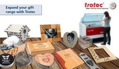 Al Tarkeez sharing ideas made by TROTEC laser machine..
