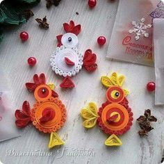 Hahn is a breeder - Best Quilling Ideas Neli Quilling, Quilling Dolls, Paper Quilling Earrings, Paper Quilling Cards, Quilling Work, Quilling Animals, Quilled Paper Art, Paper Quilling Designs, Quilling Craft