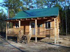 A Cozy Log Cabin for less than $27000