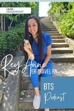Get to know ReyAnne Moya! Travel Nurse and Travel Nurse YouTuber, she runs @travelnursetakeover on IG while crushing her ER nursing schedule. A great resource for information and inspiration in travel nursing, check out ReyAnne Pocast Episode on Behind The Scrubs. Nursing Schedule, Travel Nursing, Scrubs, Crushes, Running, Board, Youtube, Check, Inspiration