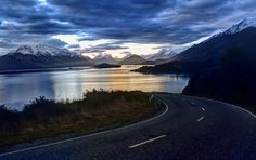 Each time I go around the bend from Queenstown to Glenorchy, I see something spectacular. I know there are a few people that live in Glenorchy and work in Queenstown, so that means they get to make this drive every day.  - Glenorchy, New Zealand  - Photo from #treyratcliff Trey Ratcliff at http://www.StuckInCustoms.com