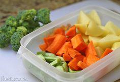 PANELATERAPIA - Blog de Culinária, Gastronomia e Receitas: Legumes na Manteiga