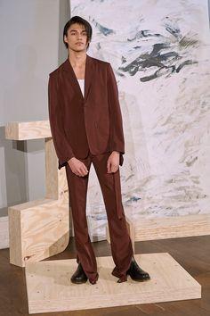 Daniel W. Fletcher Fall 2018 Menswear Fashion Show Collection