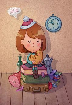 Illustrations by Marija Tiurina